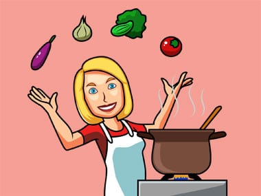Cooking Vector Illustrations