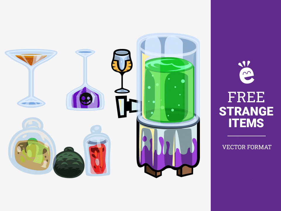 Strange Items - Free Vector Graphics