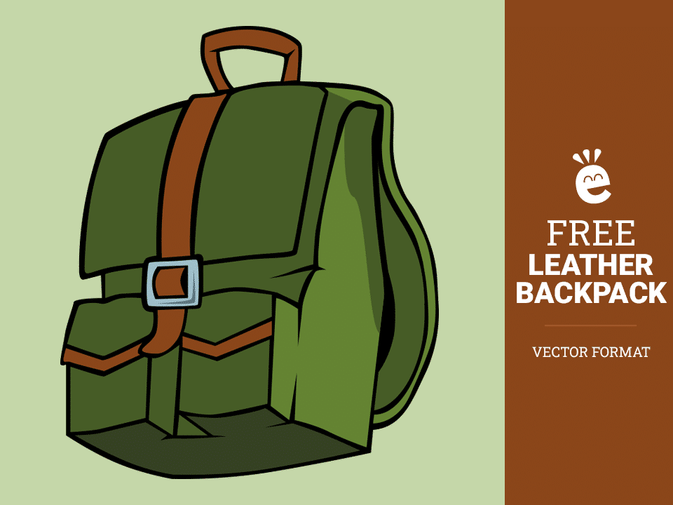 Green Backpack - Free Vector Graphic