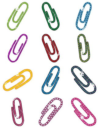 Colourful Clips Cartoon Vector Clipart Collection