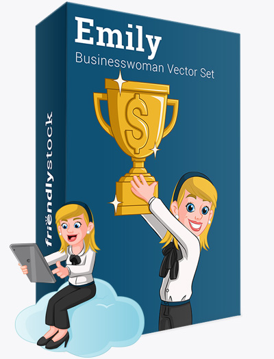 Emily The Business Woman Vector Graphics Teaser