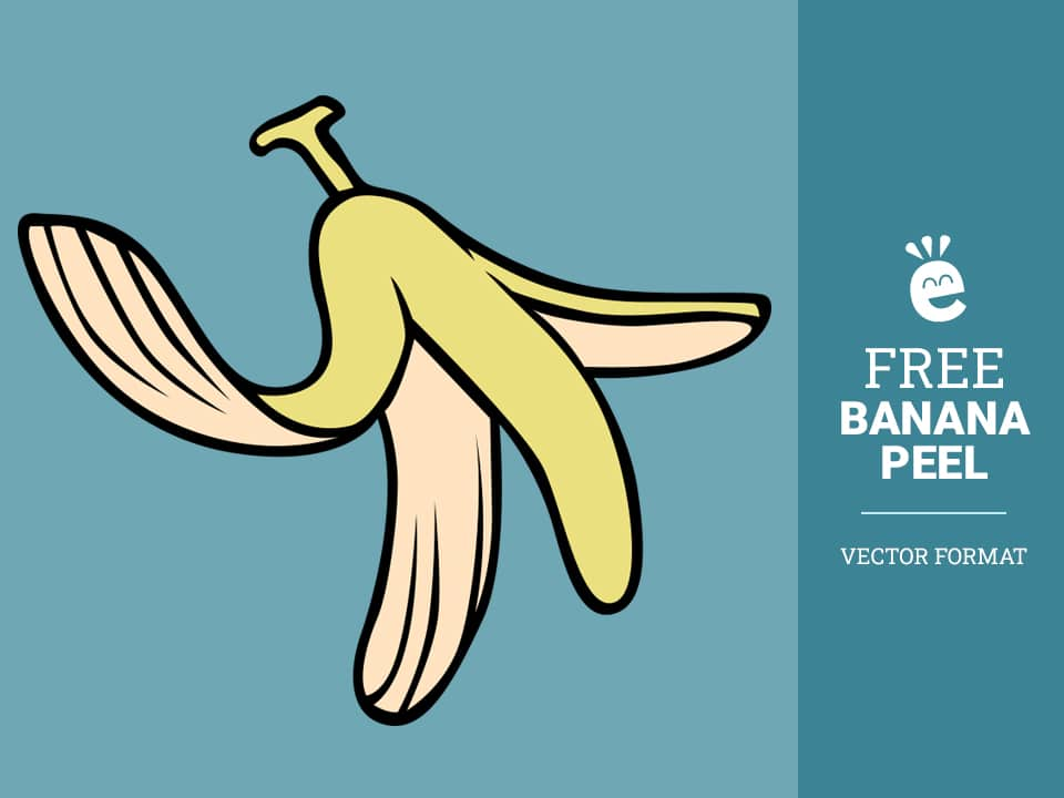 Banana Peel - Free Vector Graphic