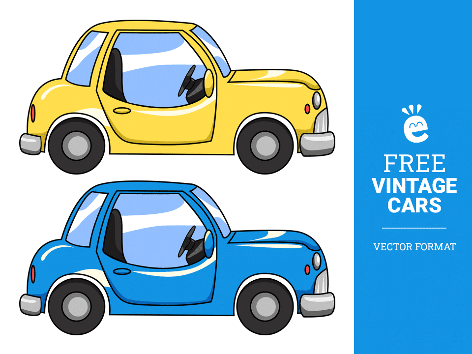 Old Cars - Free Vector Graphics