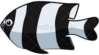 Striped bass. PNG - JPG and vector EPS file formats (infinitely scalable). Image isolated on transparent background.