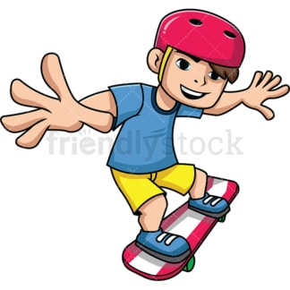 Teenager on skateboard. PNG - JPG and vector EPS file formats (infinitely scalable). Image isolated on transparent background.