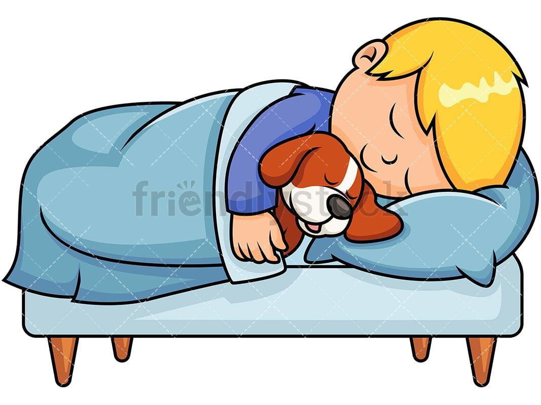 Sleeping Dog Cartoon