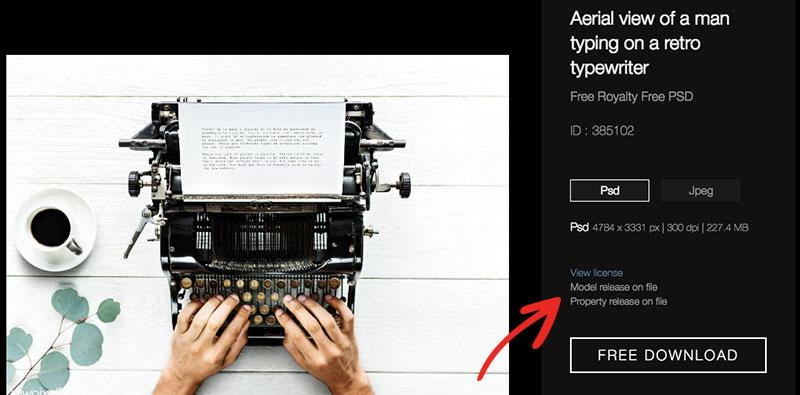 Rawpixel - Typewriter