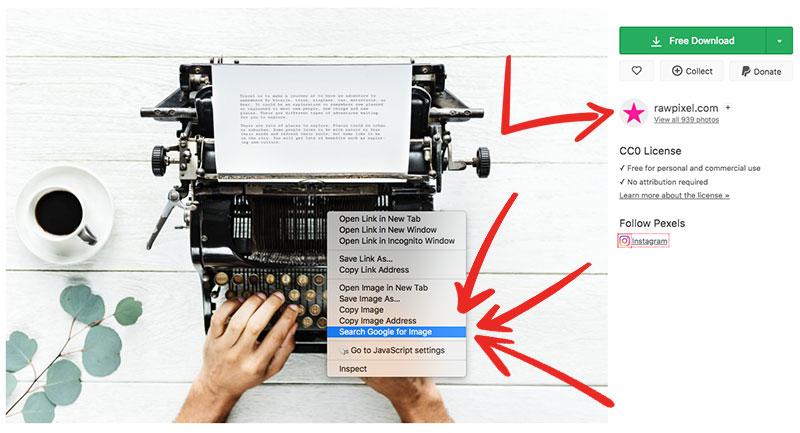 Typewriter - Pexels