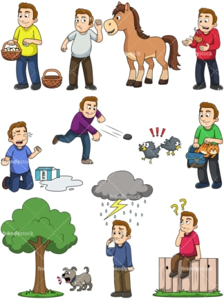 Popular sayings. PNG - JPG and vector EPS file formats (infinitely scalable). Images isolated on transparent background.