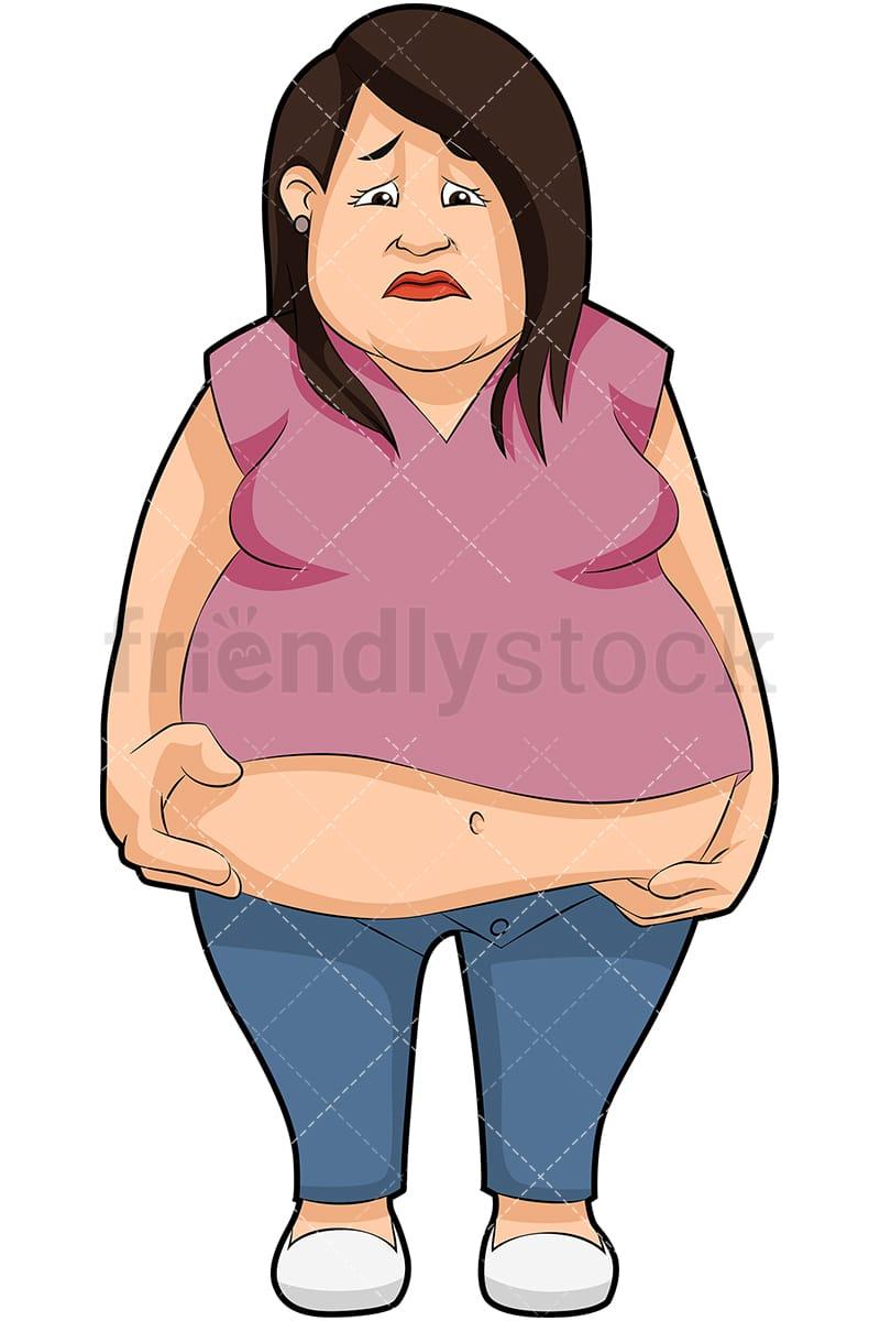 cartoon Fat images girl