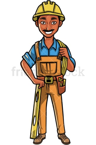 Indian construction worker. PNG - JPG and vector EPS file formats (infinitely scalable). Image isolated on transparent background.
