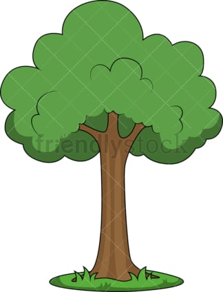 Simple tree. PNG - JPG and vector EPS file formats (infinitely scalable). Image isolated on transparent background.