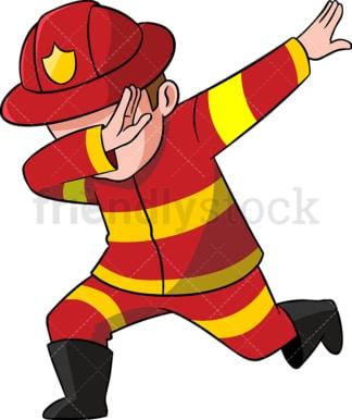 fireman clipart cartoon vector images friendlystock rh friendlystock com fireman cartoon images fireman clip art free