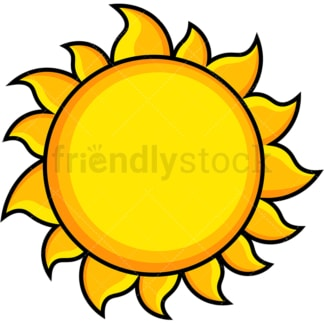 Sun icon. PNG - JPG and vector EPS file formats (infinitely scalable). Images isolated on transparent background.