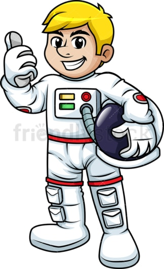 Man in space suit. PNG - JPG and vector EPS (infinitely scalable). Image isolated on transparent background.