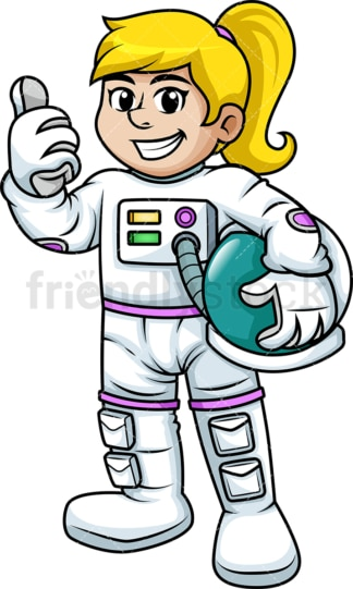 Woman in space suit. PNG - JPG and vector EPS (infinitely scalable). Image isolated on transparent background.