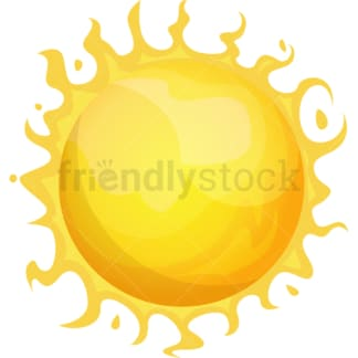 The Sun. PNG - JPG and vector EPS (infinitely scalable).