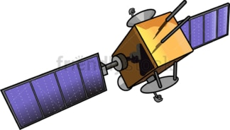 Space satellite. PNG - JPG and vector EPS (infinitely scalable).