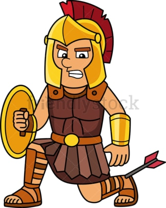Achilles heel. PNG - JPG and vector EPS file formats (infinitely scalable). Image isolated on transparent background.