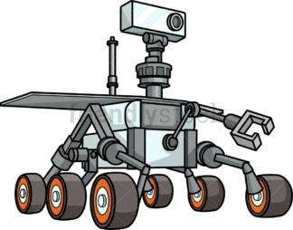 Mars rover. PNG - JPG and vector EPS (infinitely scalable).