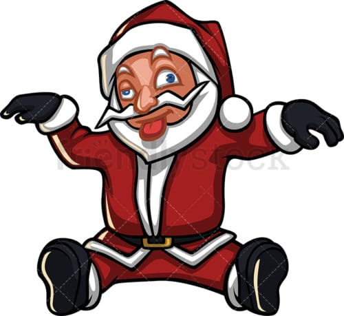 Dazed Santa Claus