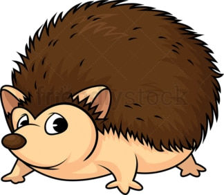 Wild hedgehog. PNG - JPG and vector EPS (infinitely scalable).