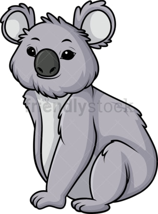 Koala bear. PNG - JPG and vector EPS (infinitely scalable).