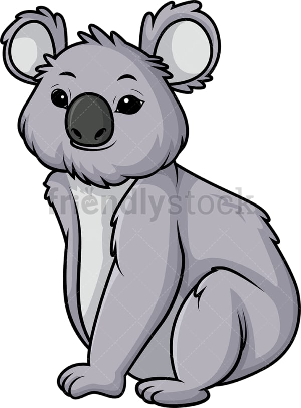 Koala bear. PNG - JPG and vector EPS (infinitely scalable).