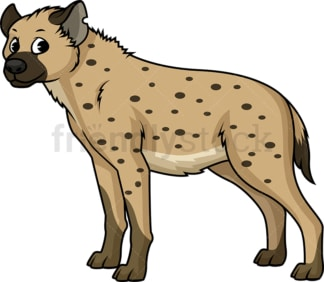 Wild hyena. PNG - JPG and vector EPS (infinitely scalable).
