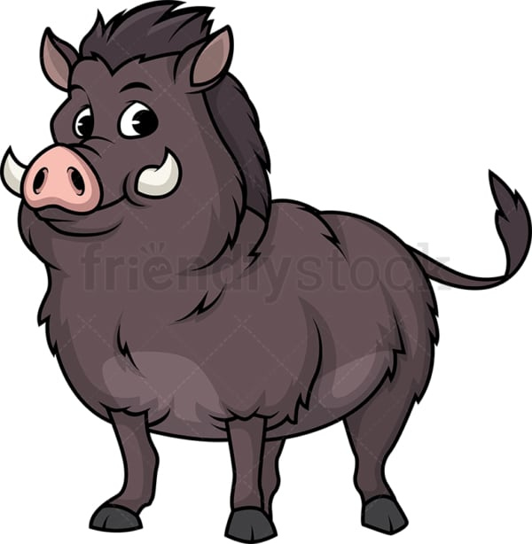 Wild boar. PNG - JPG and vector EPS (infinitely scalable).