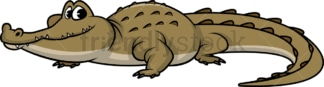 Wild crocodile. PNG - JPG and vector EPS (infinitely scalable).