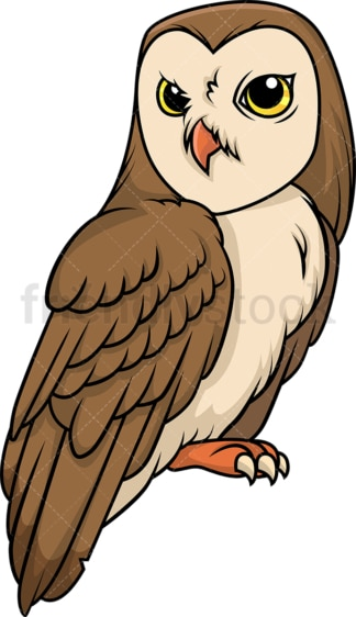 Majestic owl. PNG - JPG and vector EPS (infinitely scalable).
