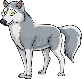 Wild wolf. PNG - JPG and vector EPS (infinitely scalable).