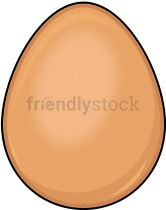 Simple egg. PNG - JPG and vector EPS (infinitely scalable). Image isolated on transparent background.