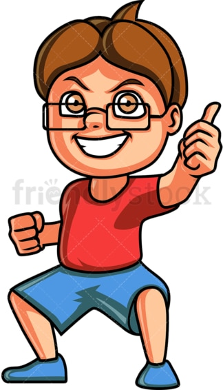 Little boy thumbs up. PNG - JPG and vector EPS (infinitely scalable).