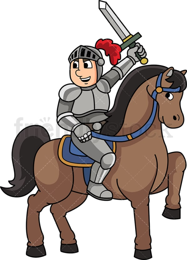 Medieval knight. PNG - JPG and vector EPS (infinitely scalable).