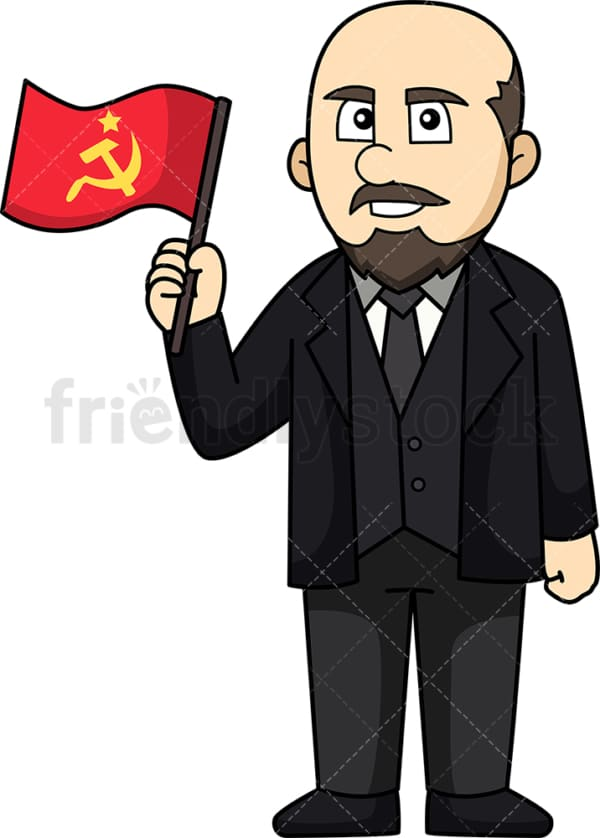 Vladimir Lenin. PNG - JPG and vector EPS (infinitely scalable).