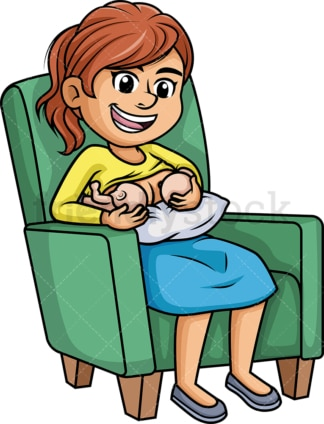Mom breastfeeding twins. PNG - JPG and vector EPS (infinitely scalable). Image isolated on transparent background.