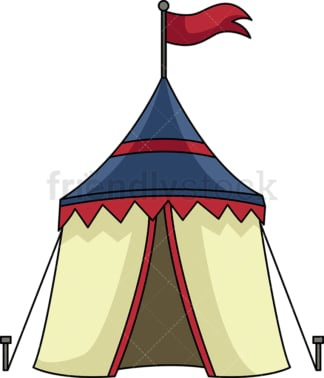 Medieval tent. PNG - JPG and vector EPS (infinitely scalable).