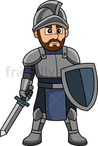 Medieval warrior. PNG - JPG and vector EPS (infinitely scalable).