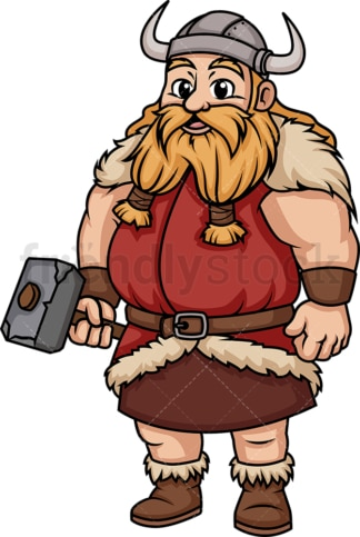 Fat viking. PNG - JPG and vector EPS (infinitely scalable). Image isolated on transparent background.