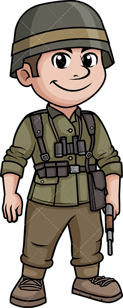 World War 2 German soldier. PNG - JPG and vector EPS (infinitely scalable).