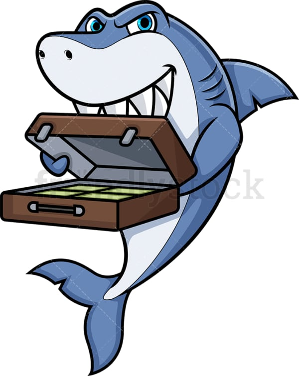 Loan shark. PNG - JPG and vector EPS (infinitely scalable).