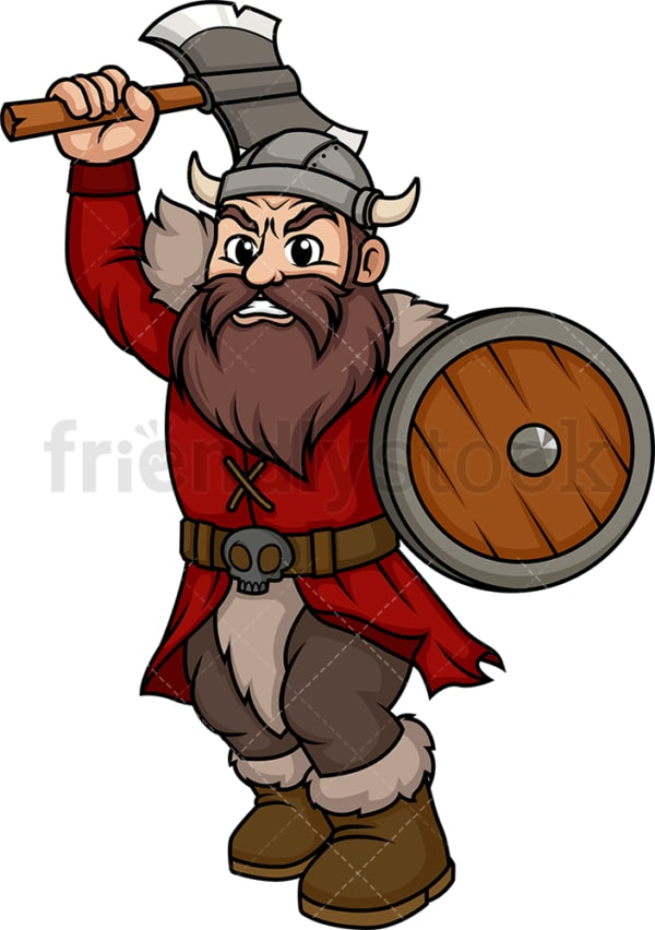 Viking warrior. PNG - JPG and vector EPS (infinitely scalable). Image isolated on transparent background.