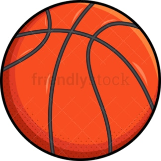 Orange basketball ball. PNG - JPG and vector EPS file formats (infinitely scalable). Images isolated on transparent background.