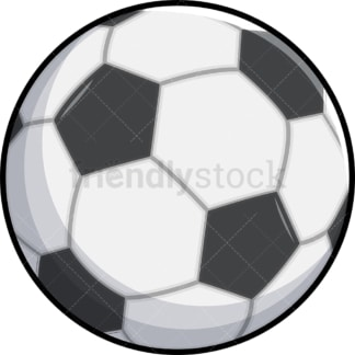 Soccer ball. PNG - JPG and vector EPS file formats (infinitely scalable). Images isolated on transparent background.