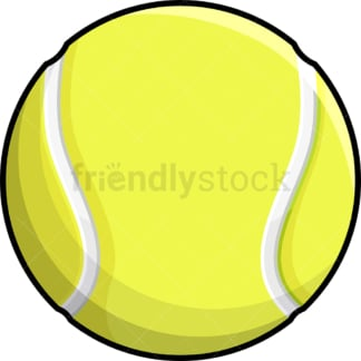 Tennis ball. PNG - JPG and vector EPS file formats (infinitely scalable). Images isolated on transparent background.