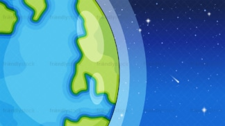 Planet earth background in 16:9 aspect ratio. PNG - JPG and vector EPS file formats (infinitely scalable).
