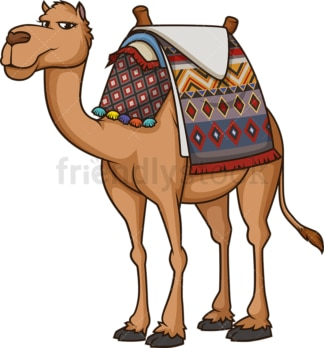 Egyptian camel. PNG - JPG and vector EPS (infinitely scalable).
