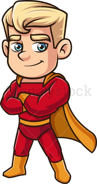 Man dressed as a superhero. PNG - JPG and vector EPS (infinitely scalable).